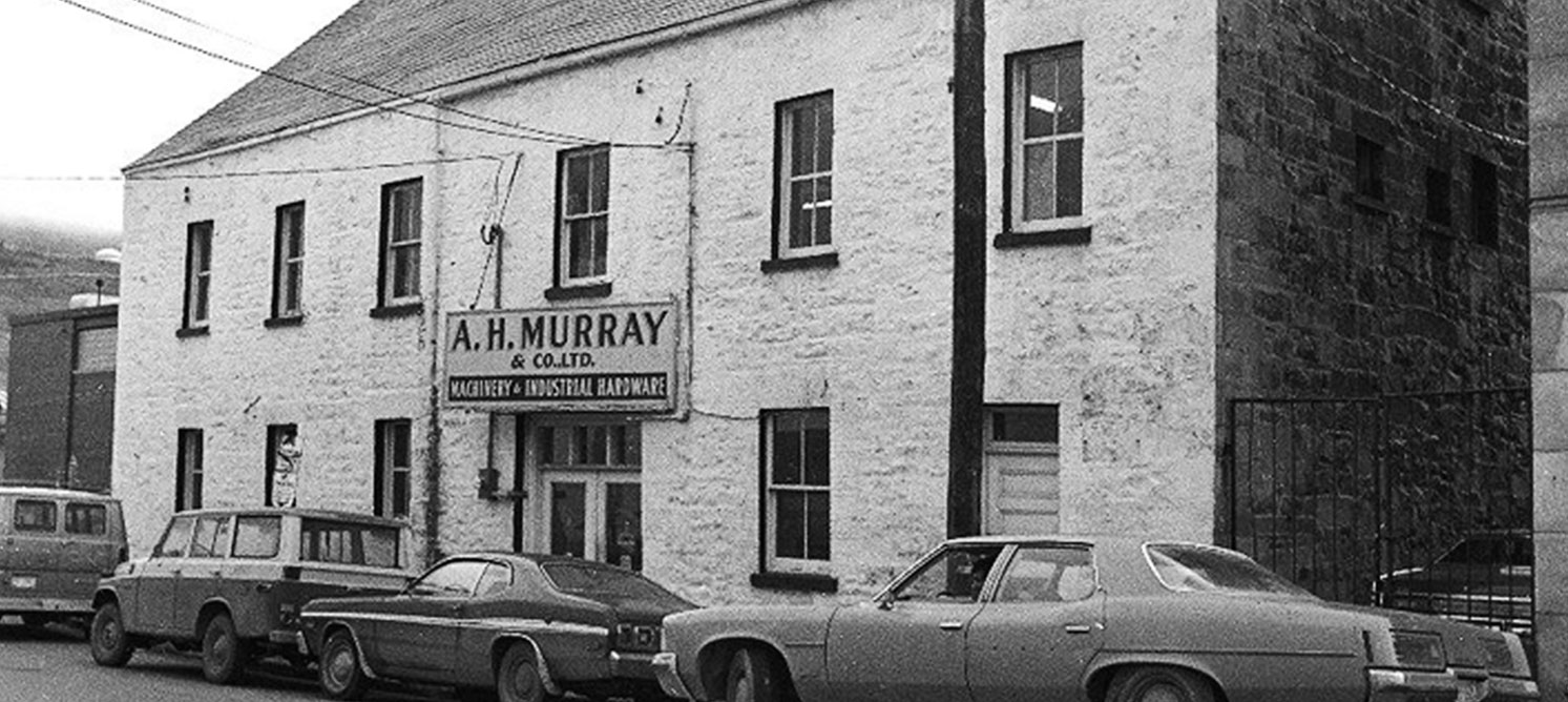 Historic photo of the Murray Premises.