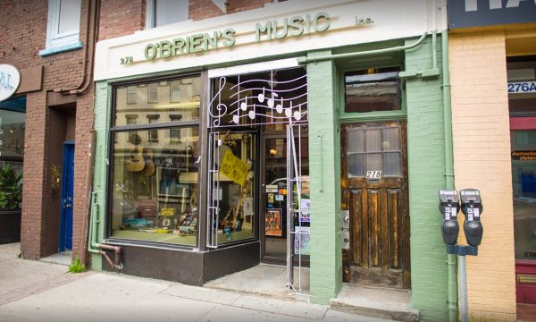 O'Briens Music on Water Street.