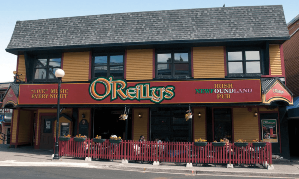 O'Reilly Irish Newfoundland Pub on George Street